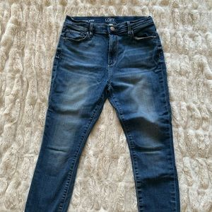 High Rise Skinny Jeans from Loft - Size 27